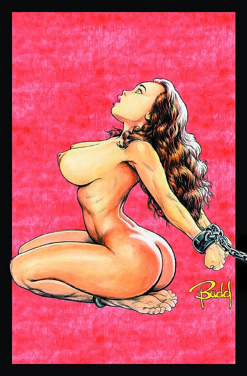 big_breasts bondage breasts budd_root cavewoman chains meriem_cooper