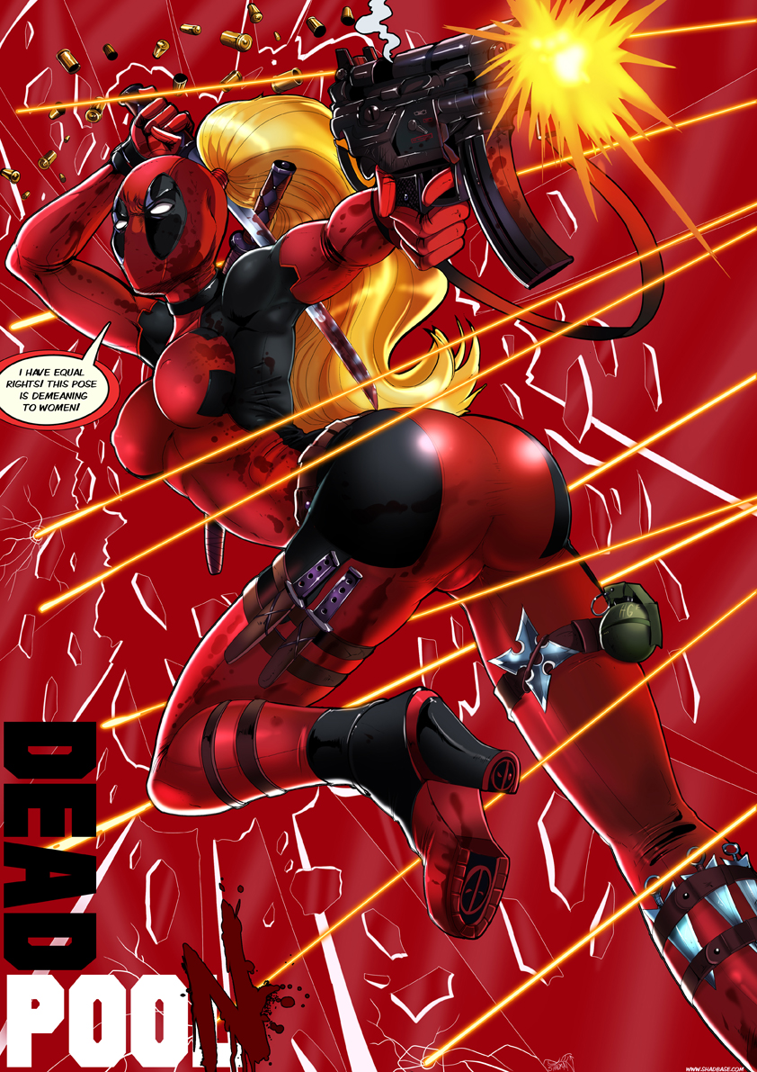 deadpool genderswap marvel shadman