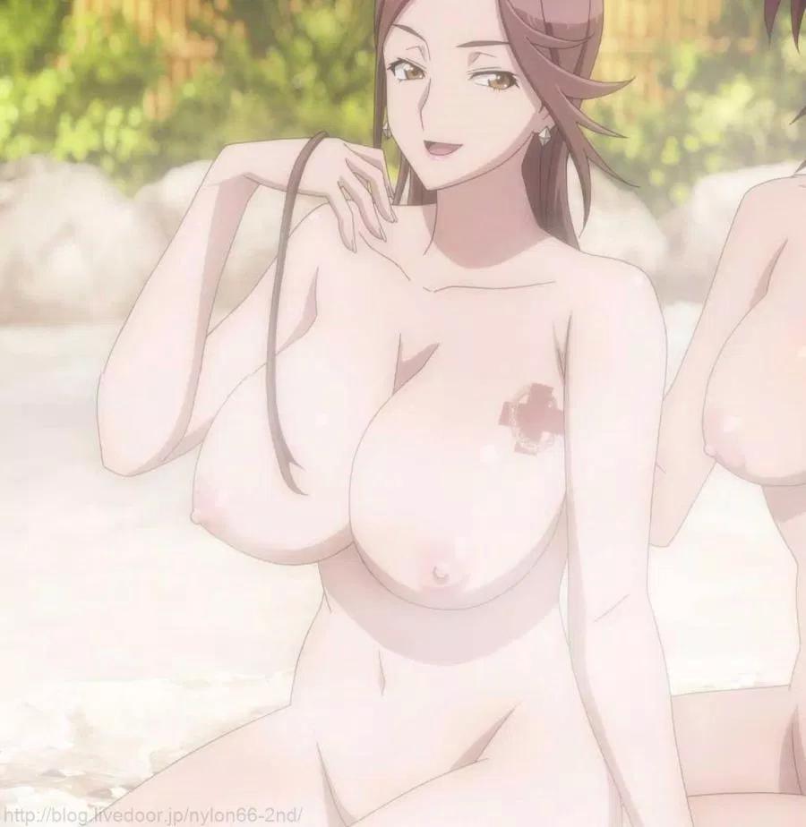 bath big_breasts breasts nude tattoo triage_x yuko_sagiri