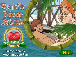 breasts game hair huge_breasts meet_and_fuck nami nude one_piece orange_hair sex