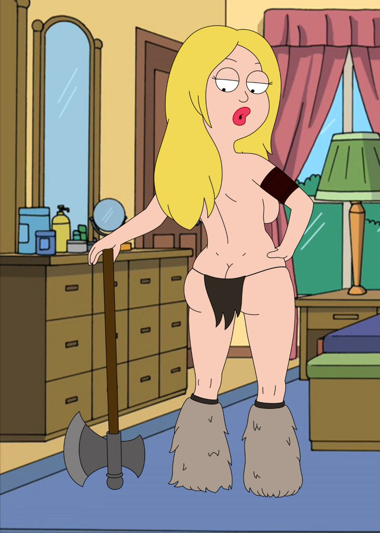 american_dad barbarian big_ass big_lips blonde_hair dat_ass francine_smith frost969