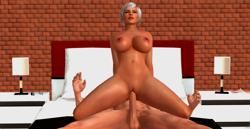 1_boy 1_girl 3d bed bedroom big_breasts breasts closed_eyes cock dead_or_alive dead_or_alive_5 dick female female_solo fucking games gray_hair human large_breasts legs lisa_hamilton male nipples nude penis posing pussy puusy_lips render reverse_cowgirl riding sex solo solo_female testicles video_games xnalara xps