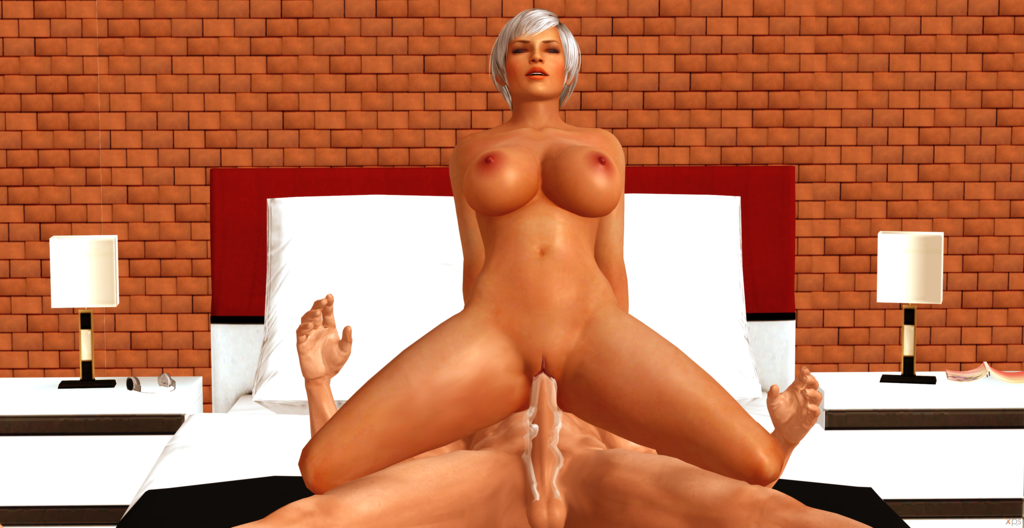 1_boy 1girl 3d bed bedroom big_breasts breasts closed_eyes cock cum dead_or_alive dead_or_alive_5 dick female female_solo fucking games gray_hair human large_breasts legs lisa_hamilton male nipples nude penis posing pussy pussy_lips render reverse_cowgirl riding sex solo_female testicles video_games xnalara xps
