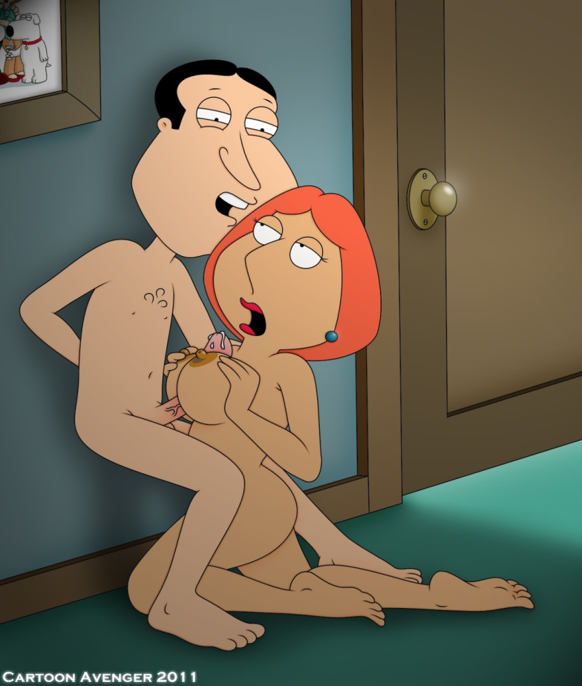cartoon_avenger_(artist) cheating family_guy glenn_quagmire lois_griffin paizuri