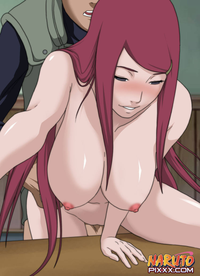 anal doggy_position naruto panties redhead uzumaki_kushina wet