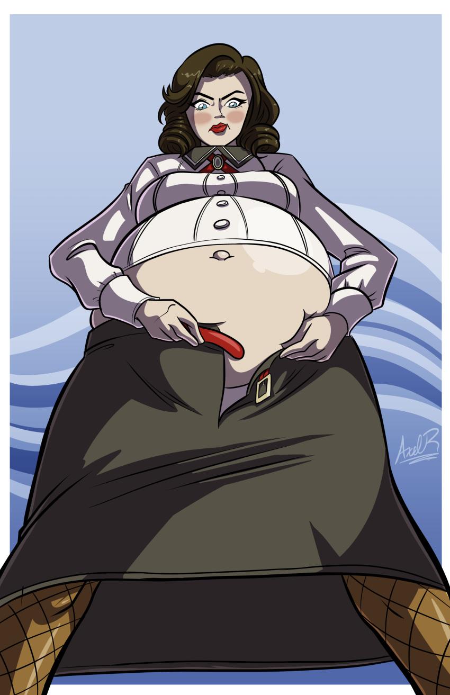 axel-rosered big_breasts bioshock bioshock_infinite breasts elizabeth pregnant