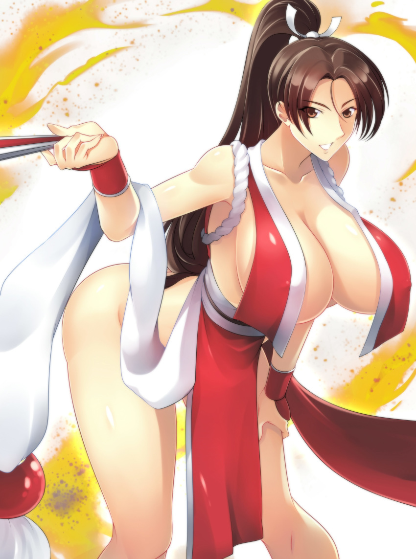 fatal_fury haganef mai_shiranui snk the_king_of_fighters