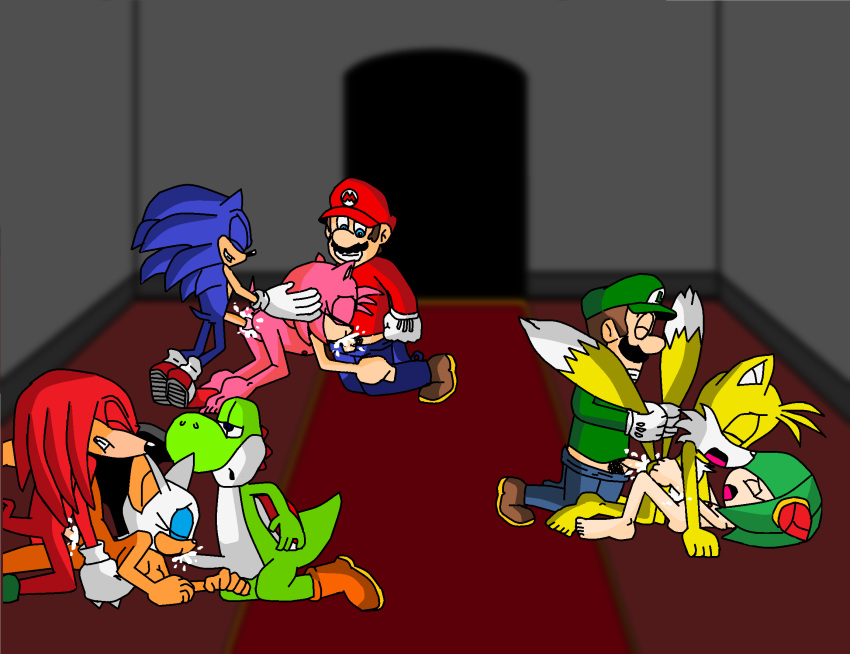 """1girl 2_humans 3_females 3_girls 6_boys 6_males amy_rose anal ass barefoot bat blue_eyes breasts canine cosmo_the_seedrian dinosaur echidna feet fox fun furry group group_sex hedgehog human interspecies knuckles_the_echidna luigi male male/female mammal mario mario_bros miles_""""tails""""_prower miles_prower mobian_(species) monotreme multiple_boys multiple_girls multiple_humans nintendo nipples nude oral orgy oruma_(artist) penetrating penis plumber pussy rape rivals rouge_the_bat seedrian sega sex sonic_the_hedgehog straight super_mario_bros. tails trio video_games yoshi"""