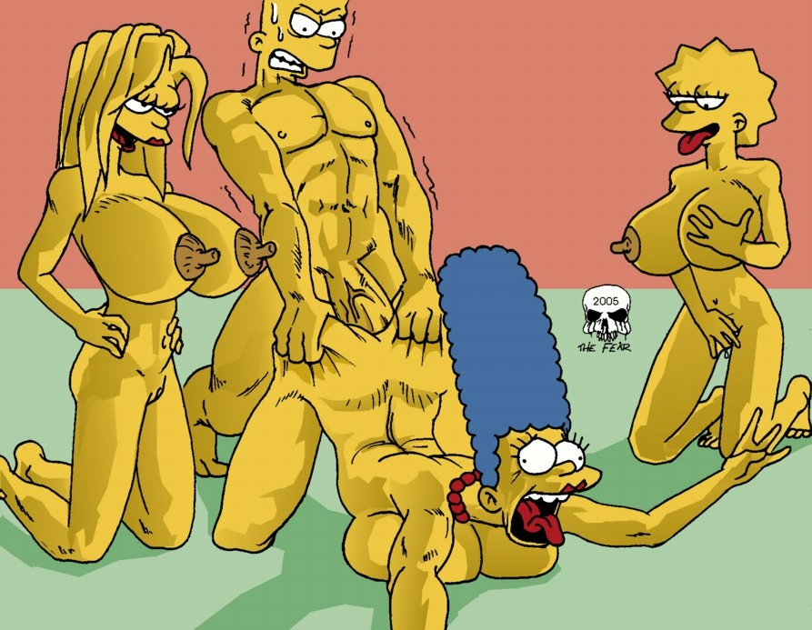 Tempting The simpsons anal sex