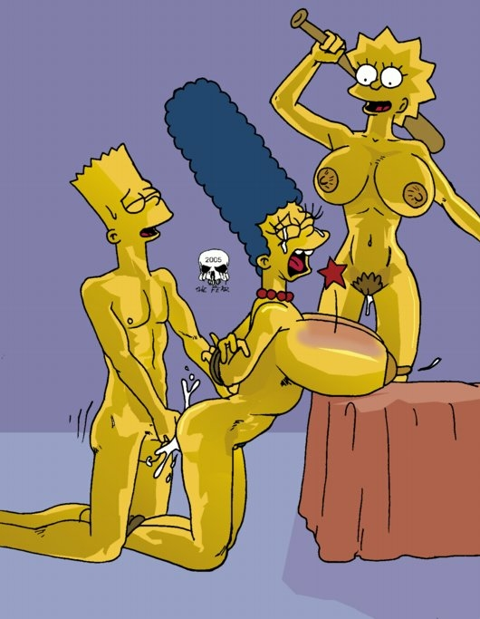 being simpsons spanked porno lisa