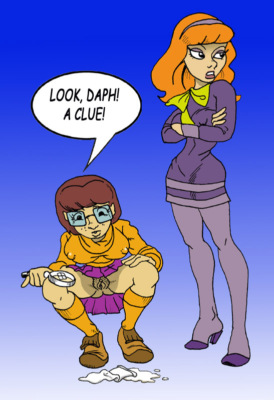 Scooby doo daphne s pussy spread really