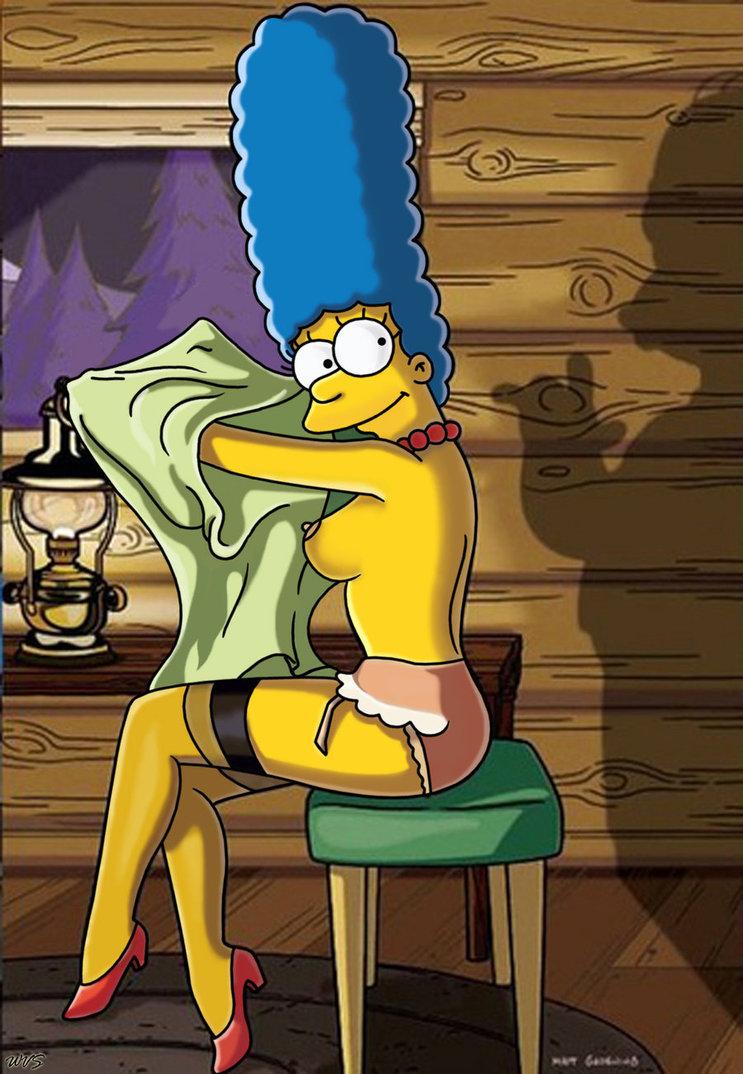 Marge simpson stockings you hard