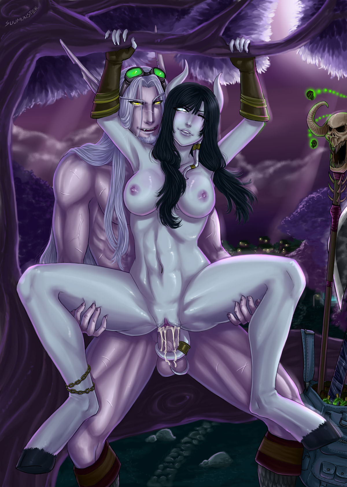 Draenei 3d nude softcore photos