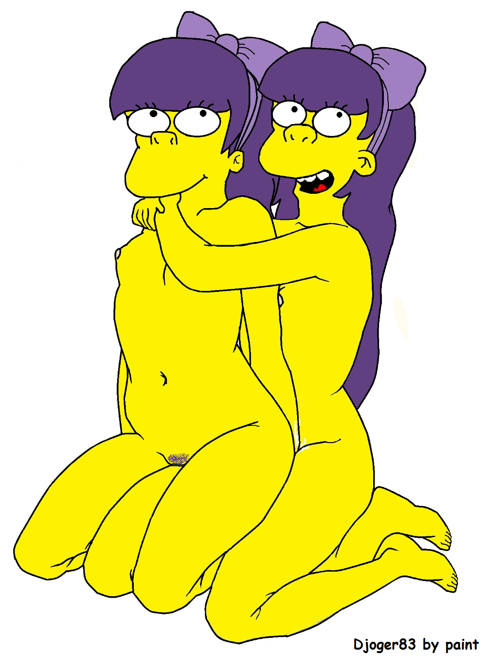 The simpsons twins porn
