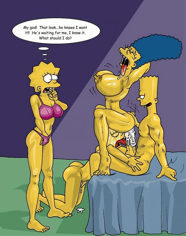Bart Lisa Maggie Marge Simpson Porn