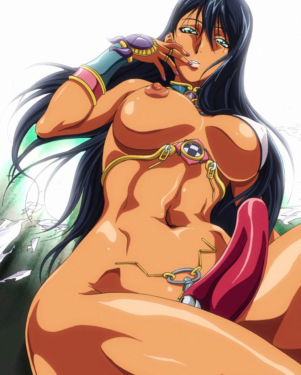 Sexy anime black skin sex fucked clip