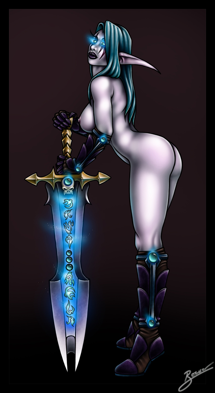 World of warcraft death knight porn xxx picture