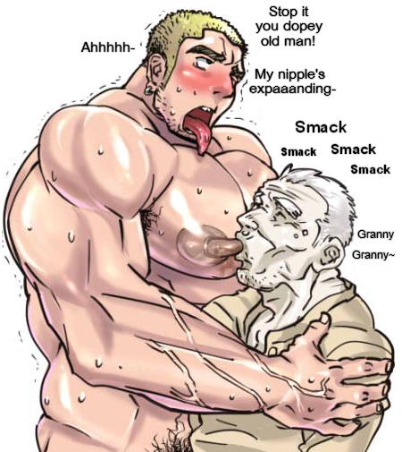 Yaoi nipple porn