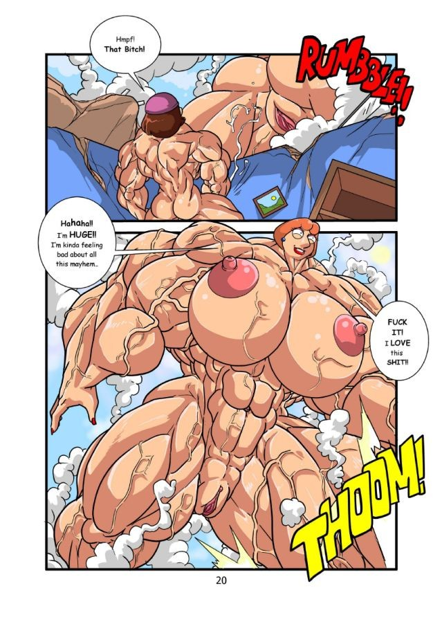 Xbooru - ass back big breasts breasts clitoris family guy ...