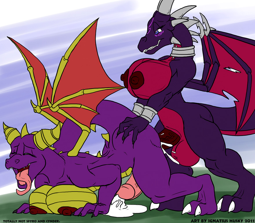 anthro anthrofied balls big_breasts black_dragon breasts ...
