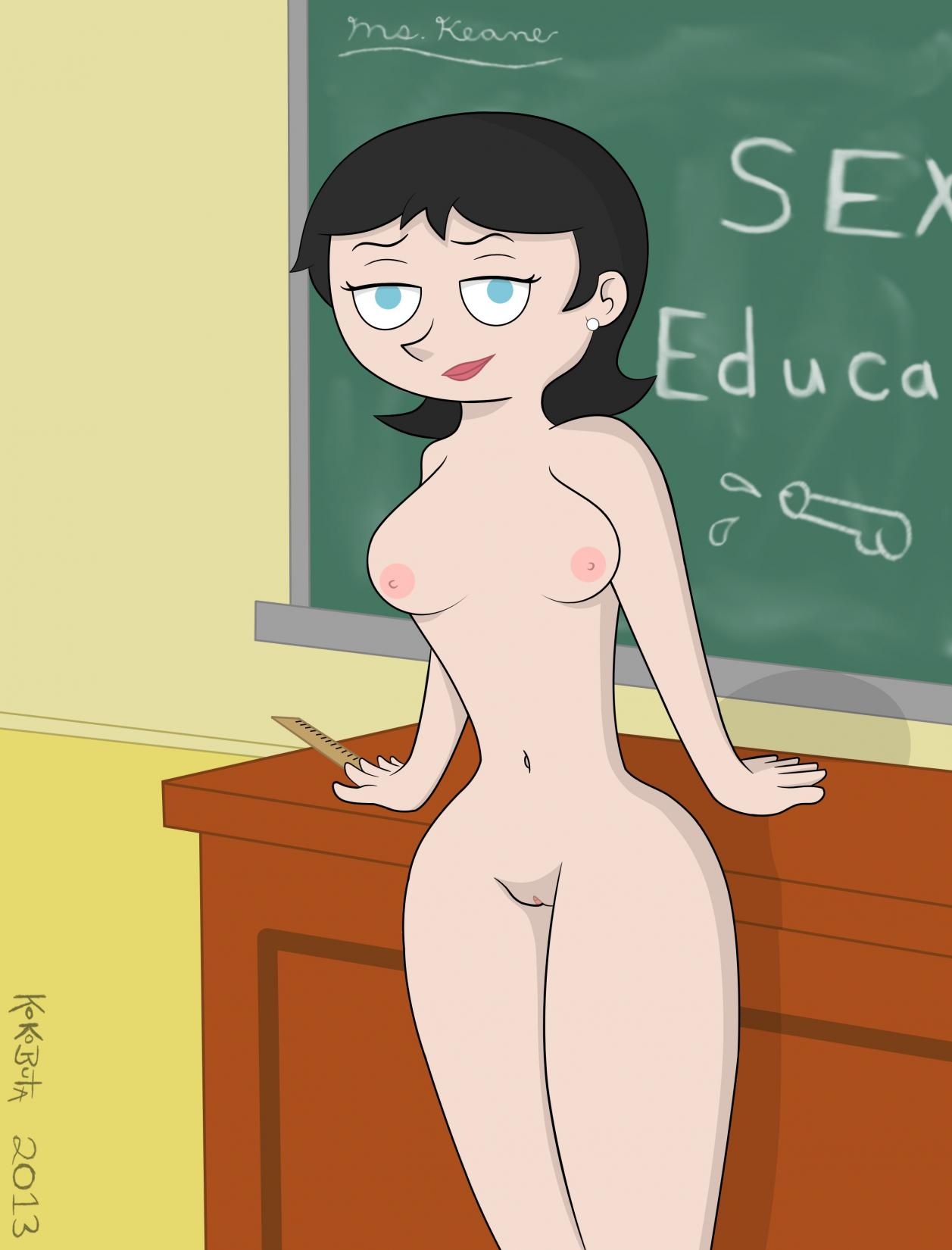 Thank for teacher naked booty in powerpuff girls
