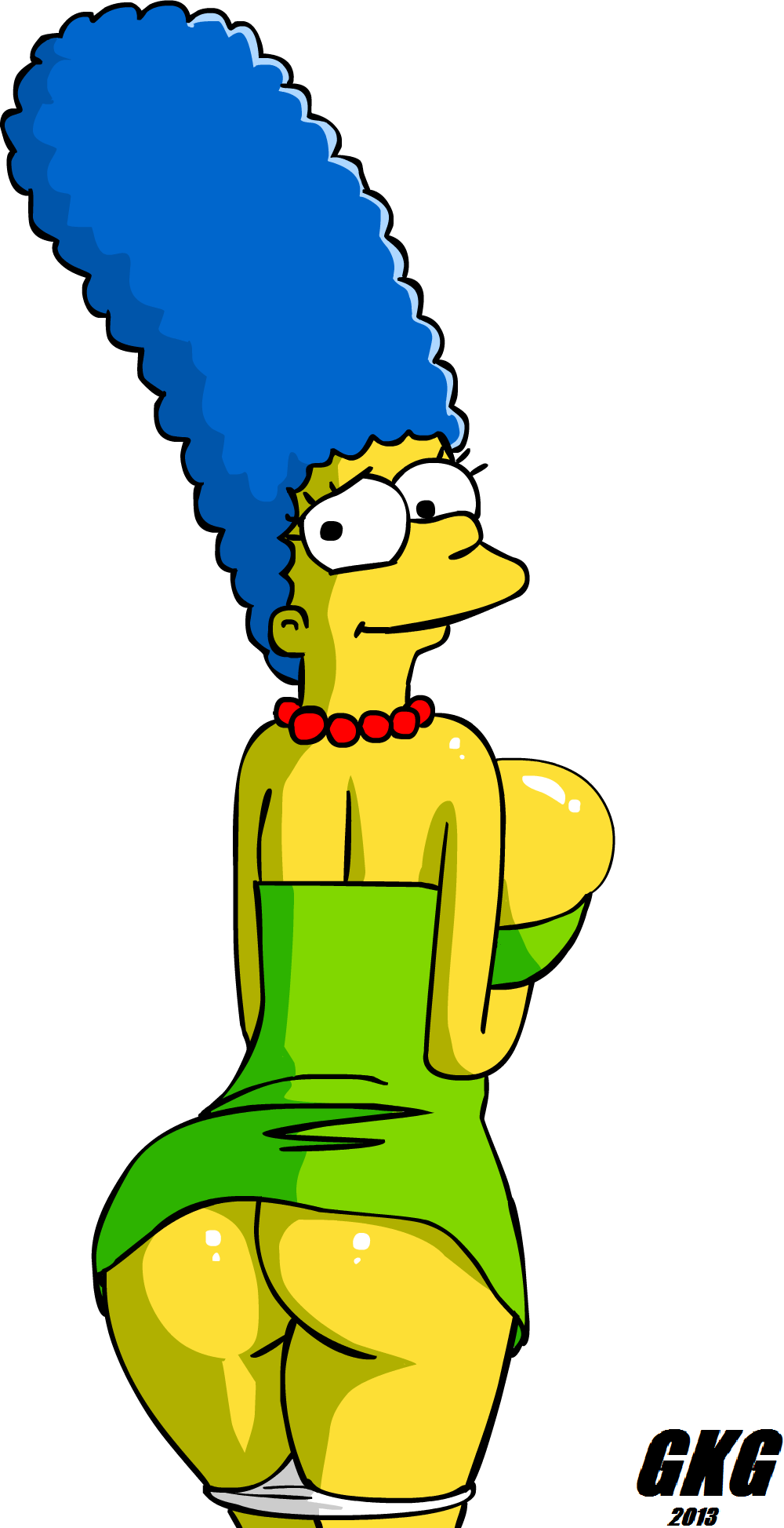 marge simpson sexy ass