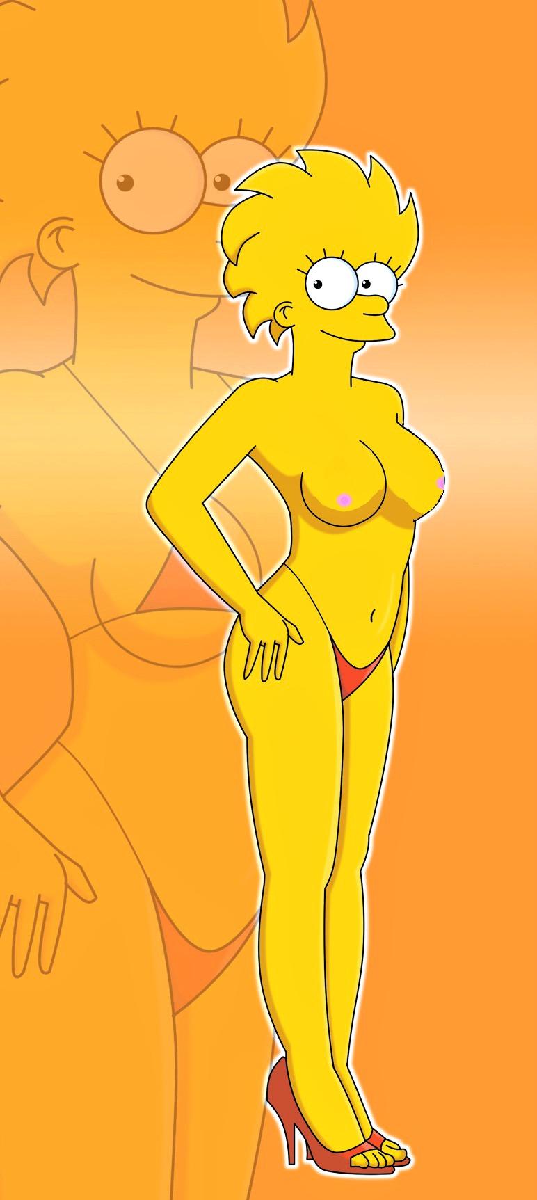 Симпсоны лиза развратница 6 фотография
