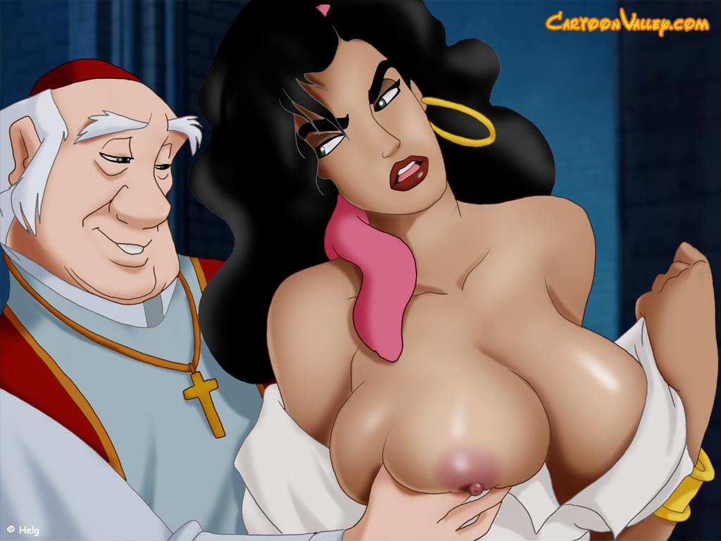 Esmeralda cartoon valley porn