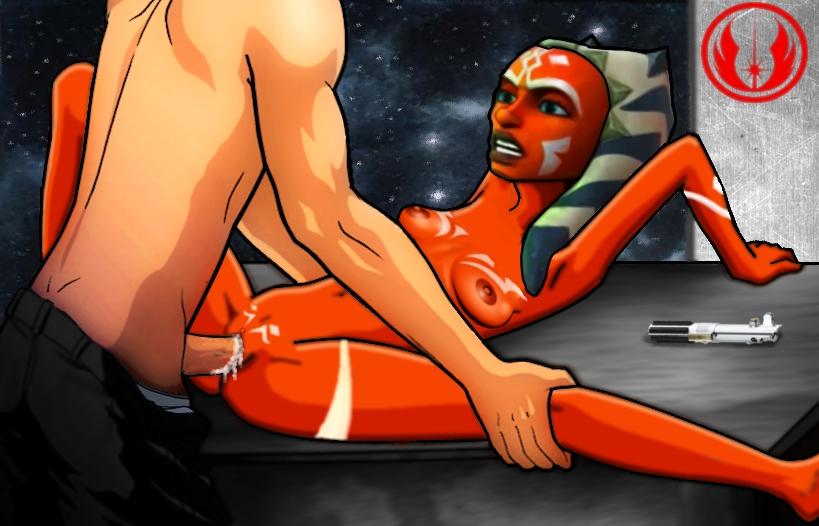 Star wars ahsoka pussy something is