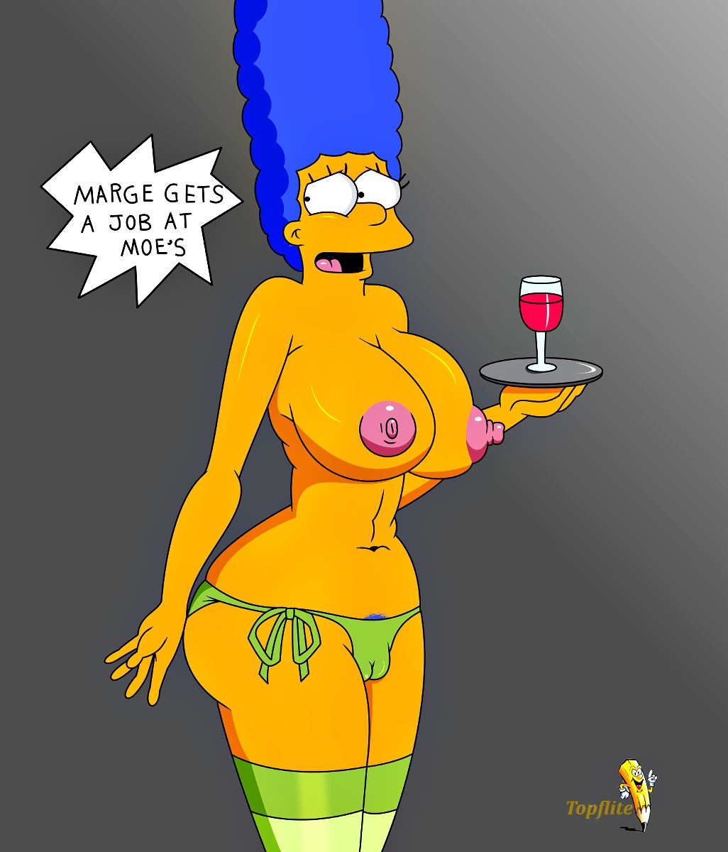 Marge simpson big breasts really
