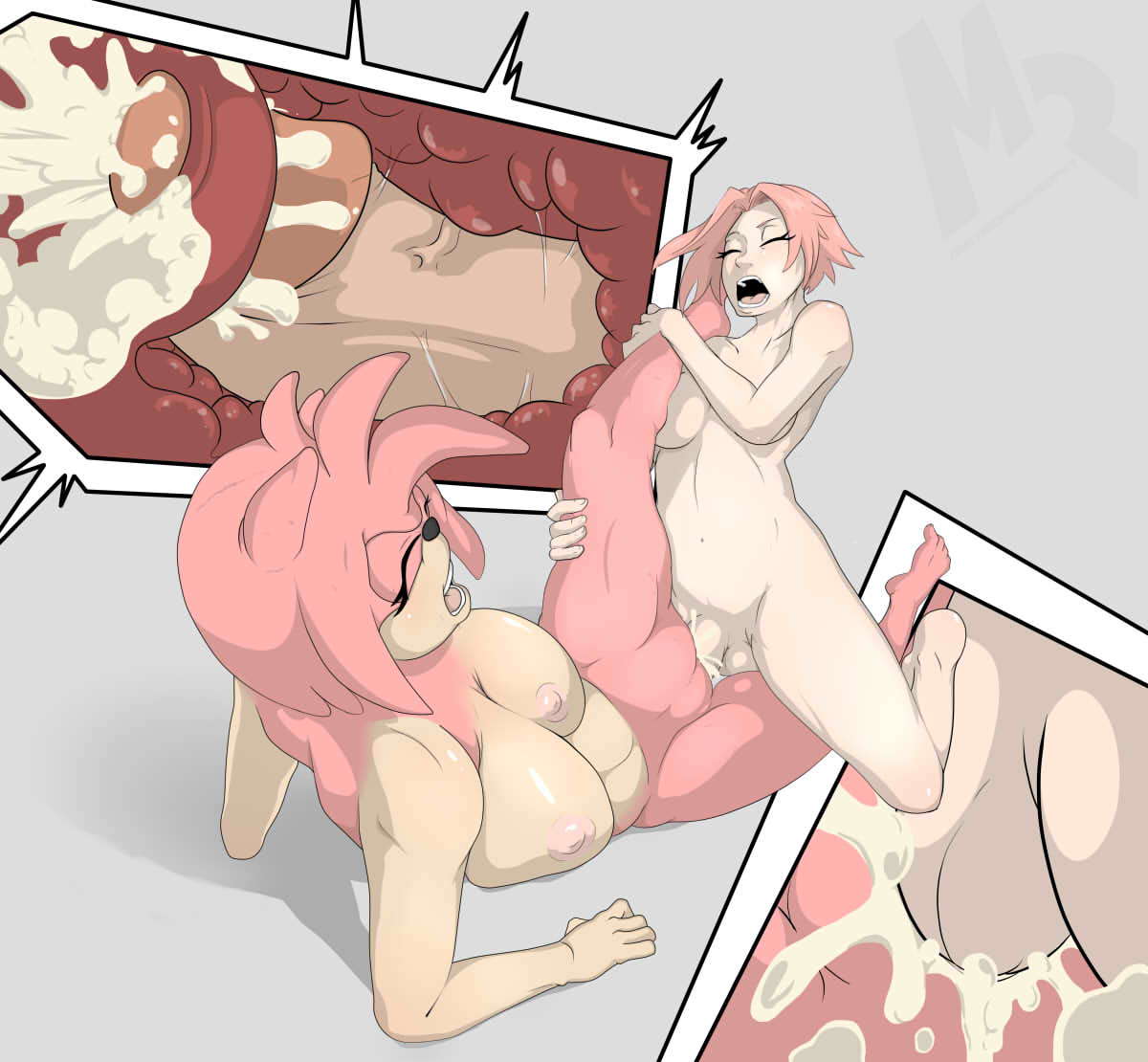 Futa On Female Cum Inside