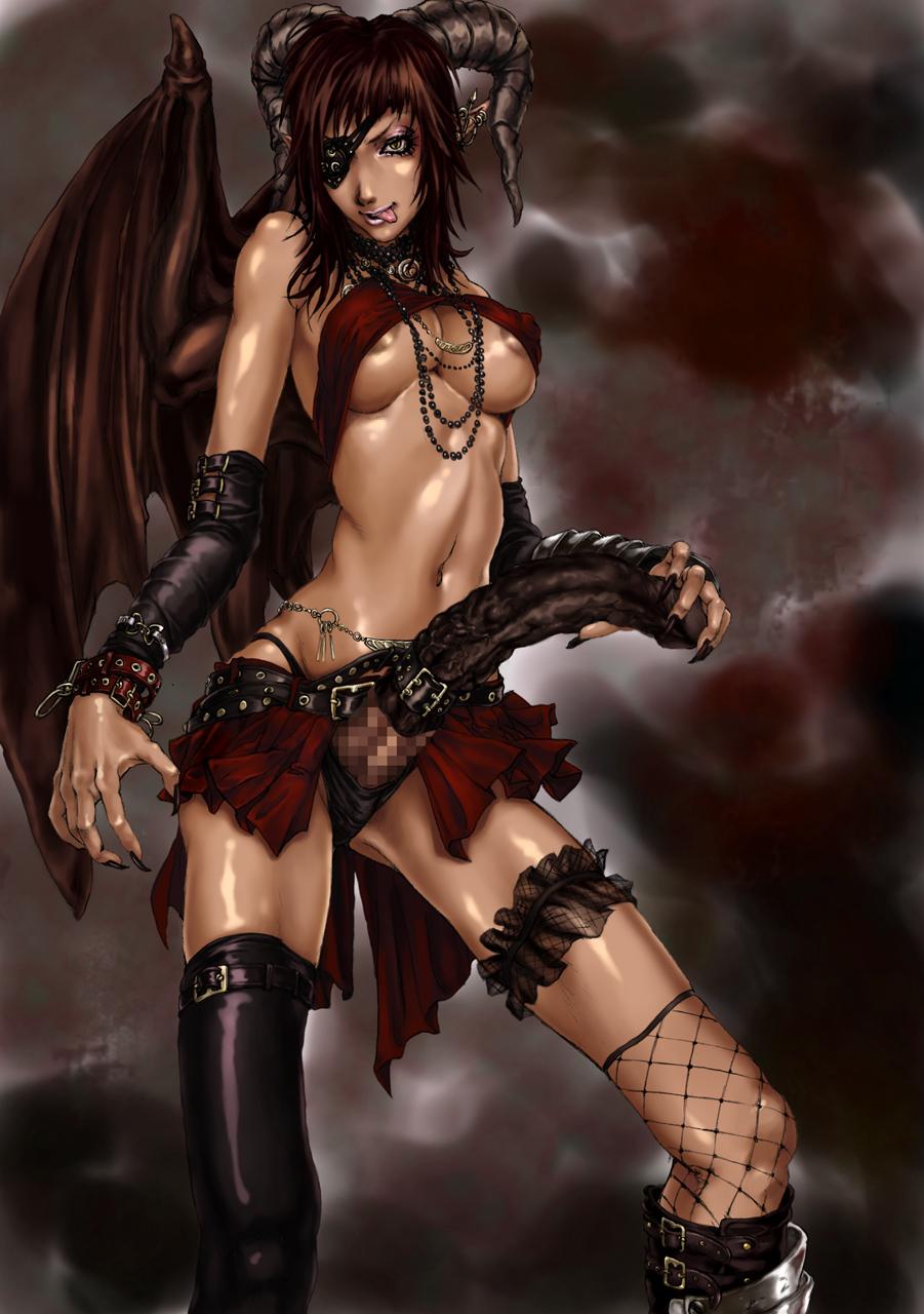 Sexiest naked demons fucking girls