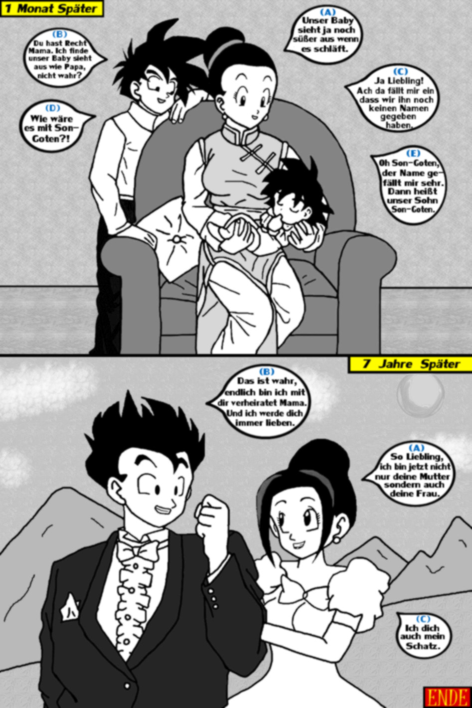 goten and gohan age difference in dating