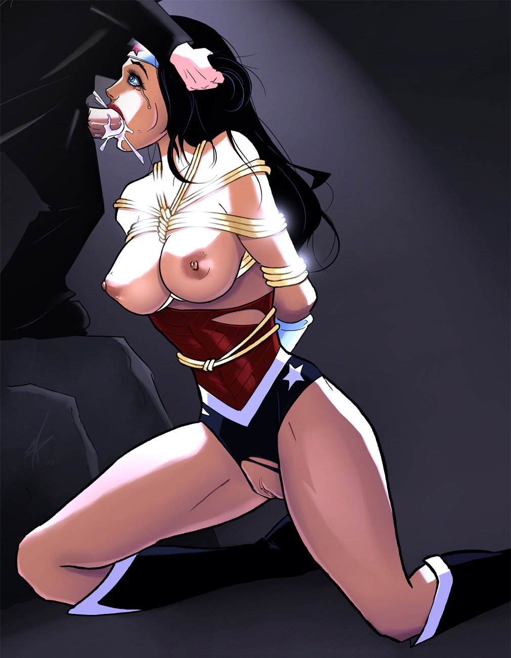 Wonder woman hentai porn pics naked picture