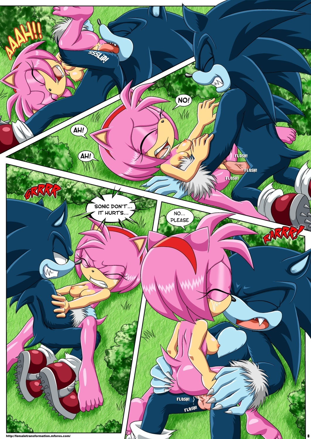 Sonic werehog amy rose porn cartoon movies