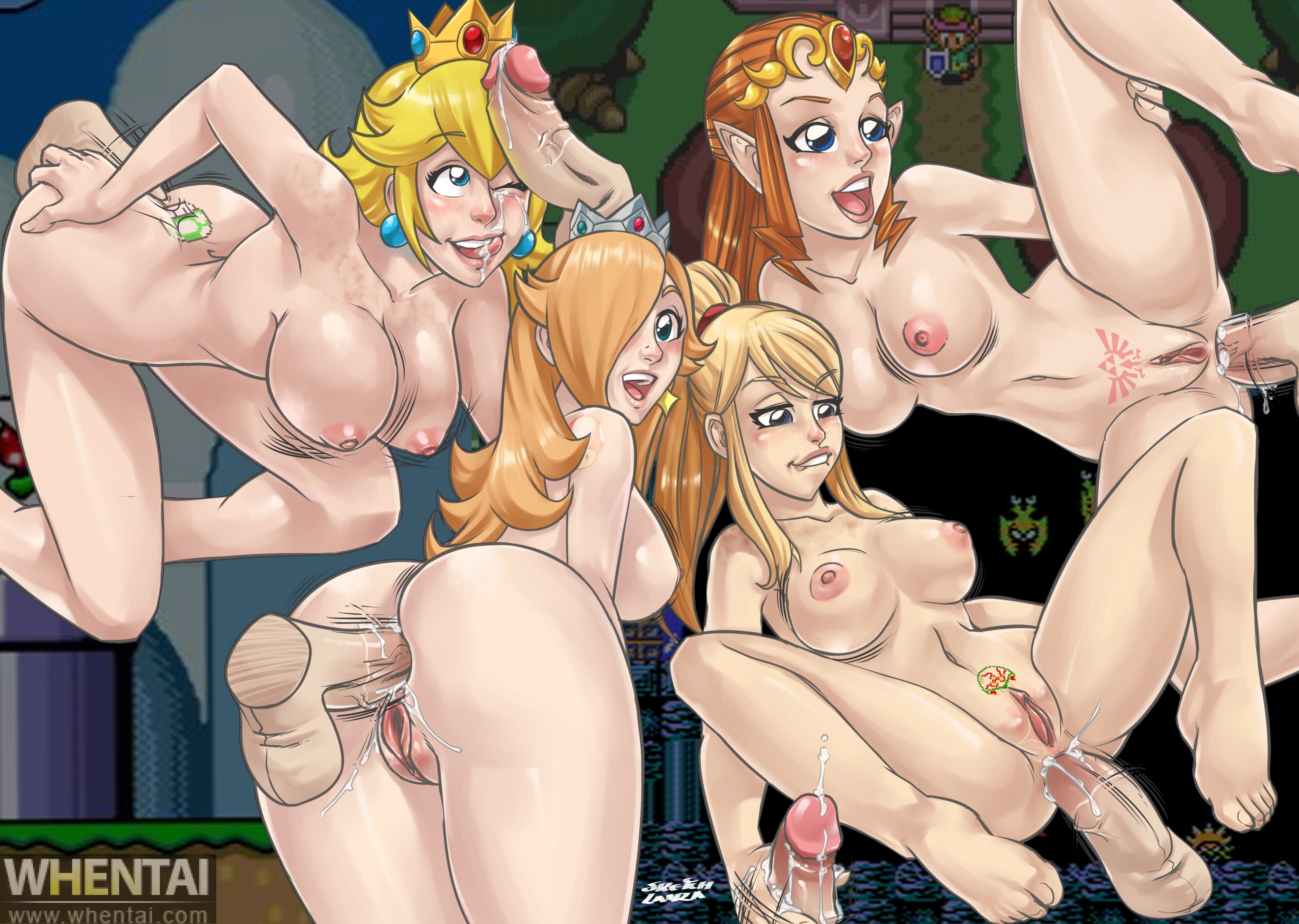 Blonde zelda and samus naked excellent phrase