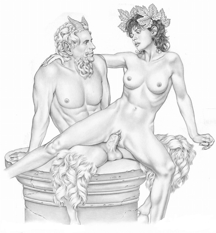 Satyrs nymphs sex and