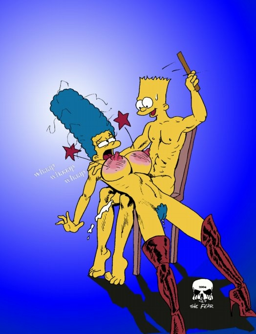 Marge simpson anal sex