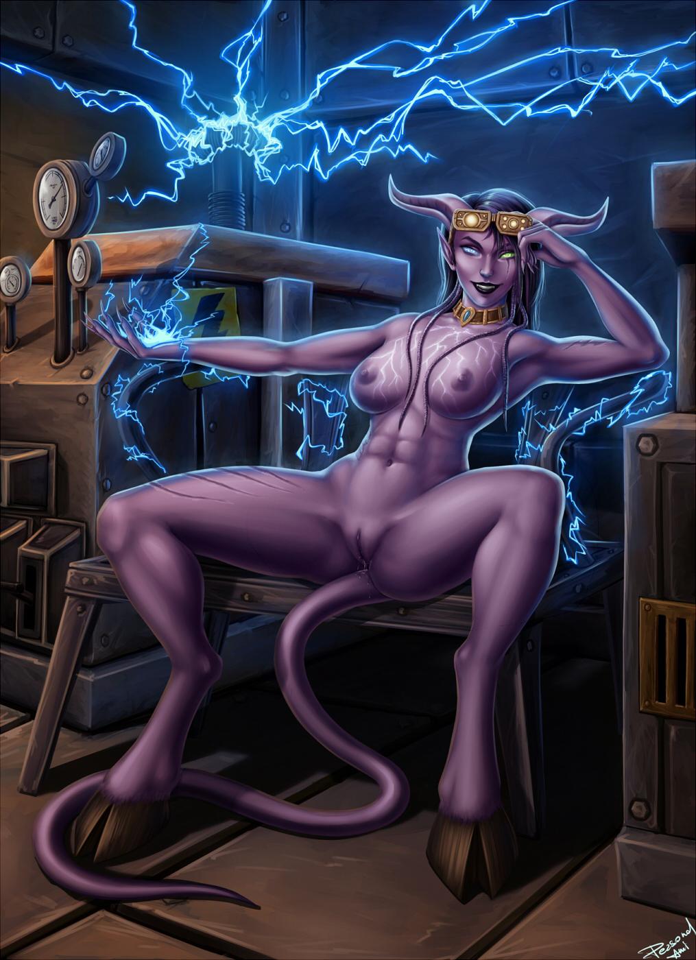 Blizzard draenei female nude nude comic