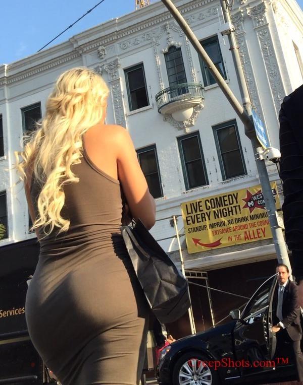 xbooru   big ass blonde dress tight walk walking 573570