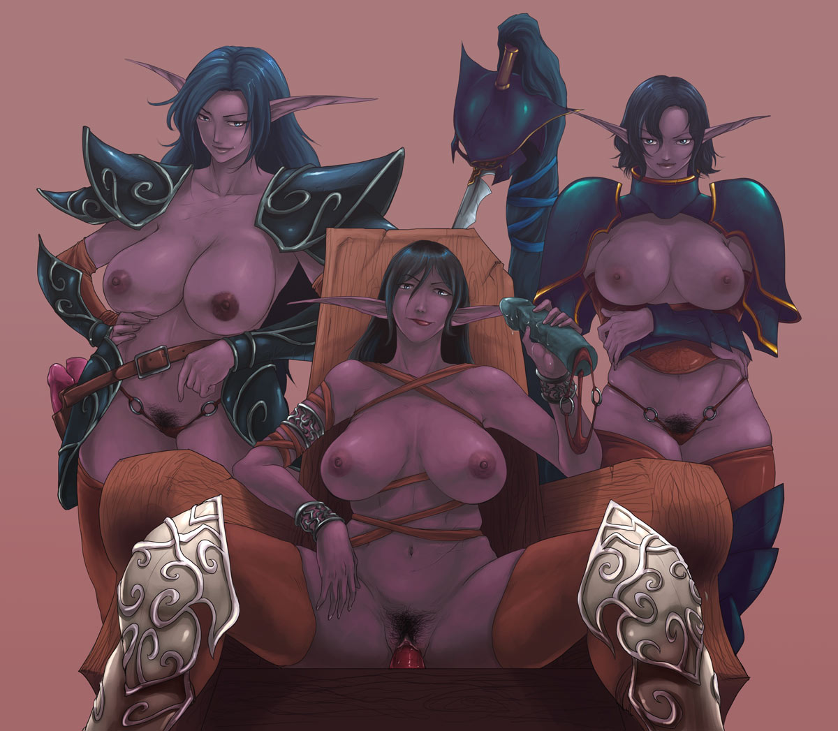 Night elf hentai pictures cartoon scenes
