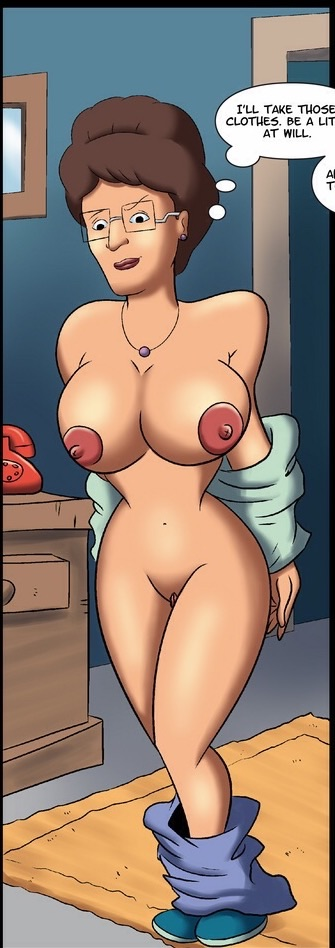 Consider, that Luanne hill is a milf you