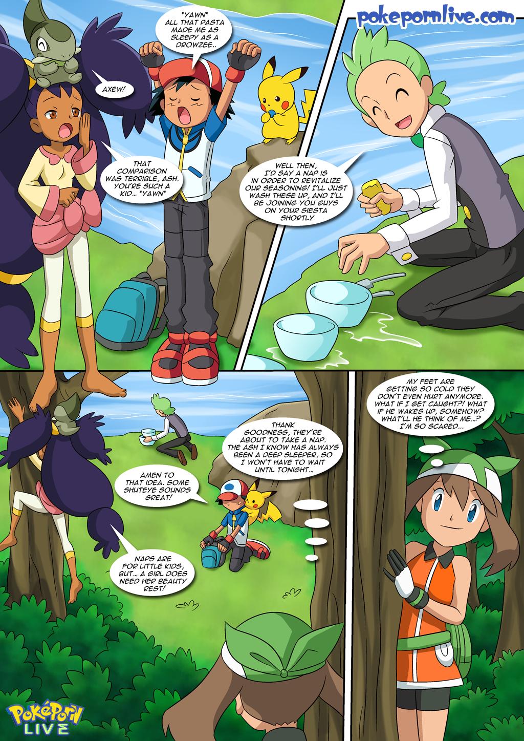 Pokemon lesbian comics
