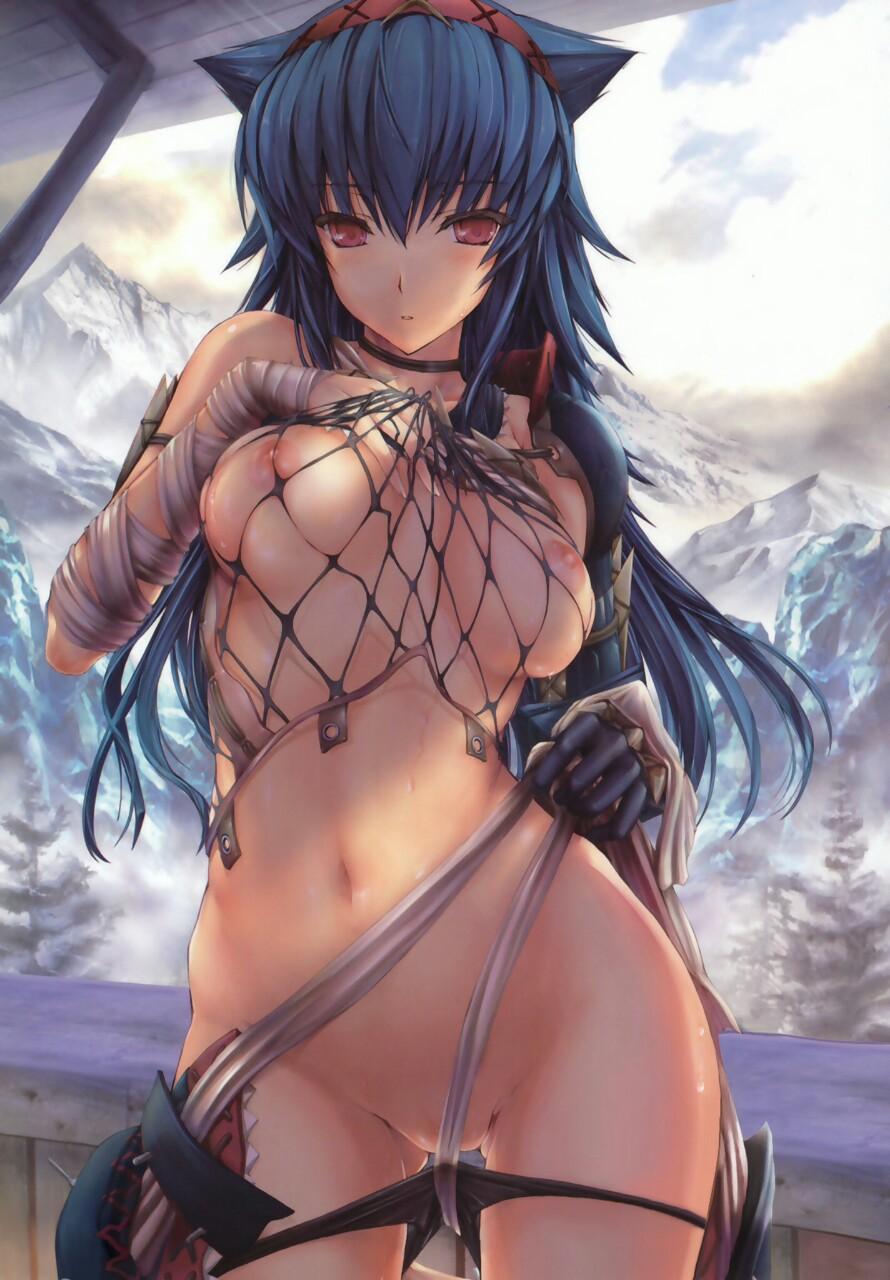 Monster hunter sex pics hentay image