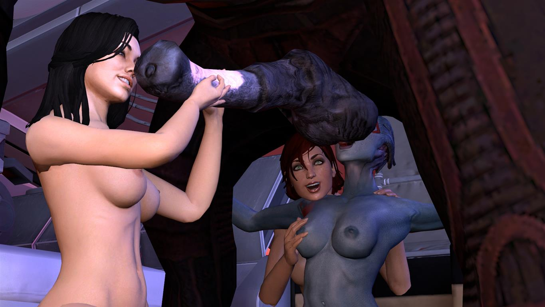 Mass effect 3 underwear nude nsfw scenes