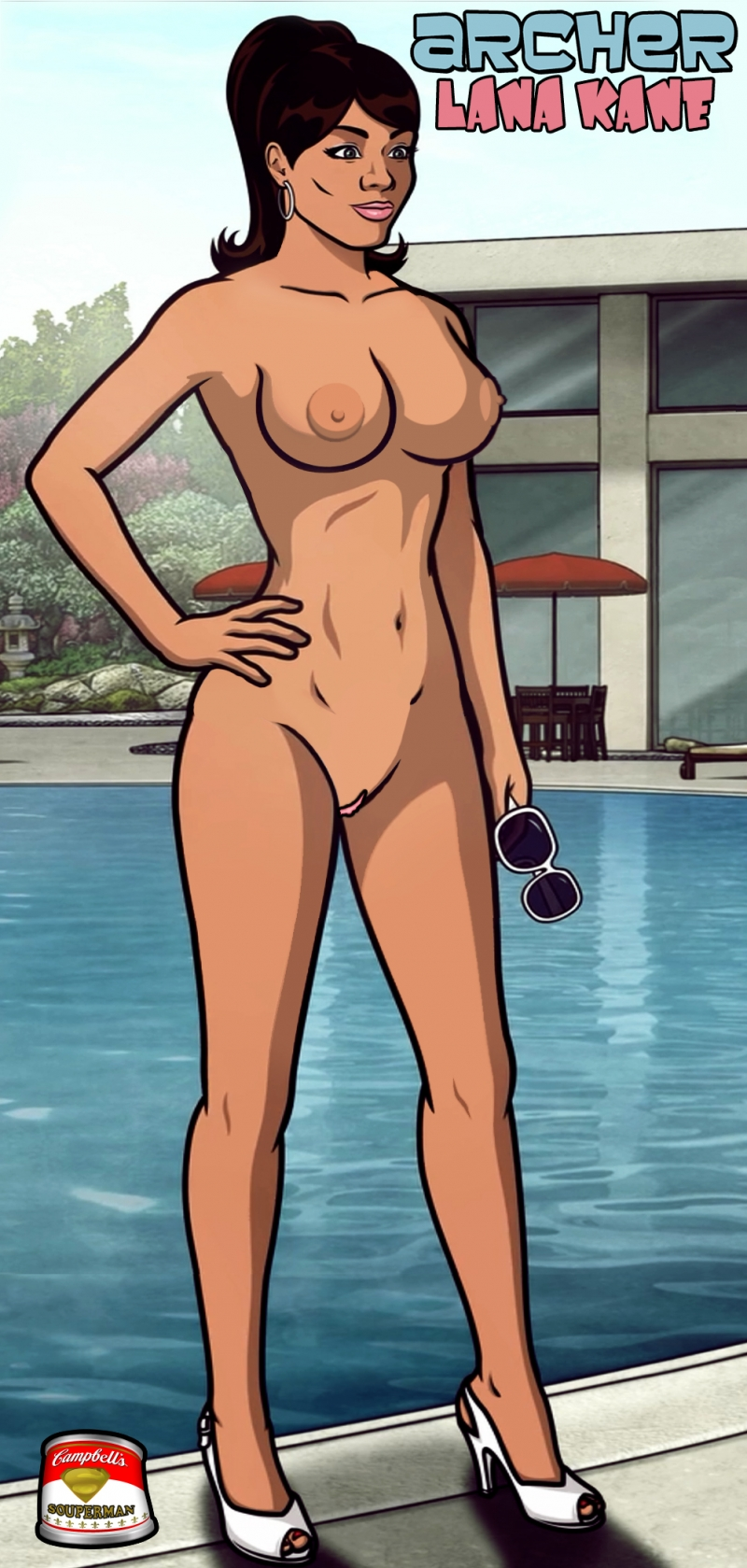 Hot pam from archer naked sex video