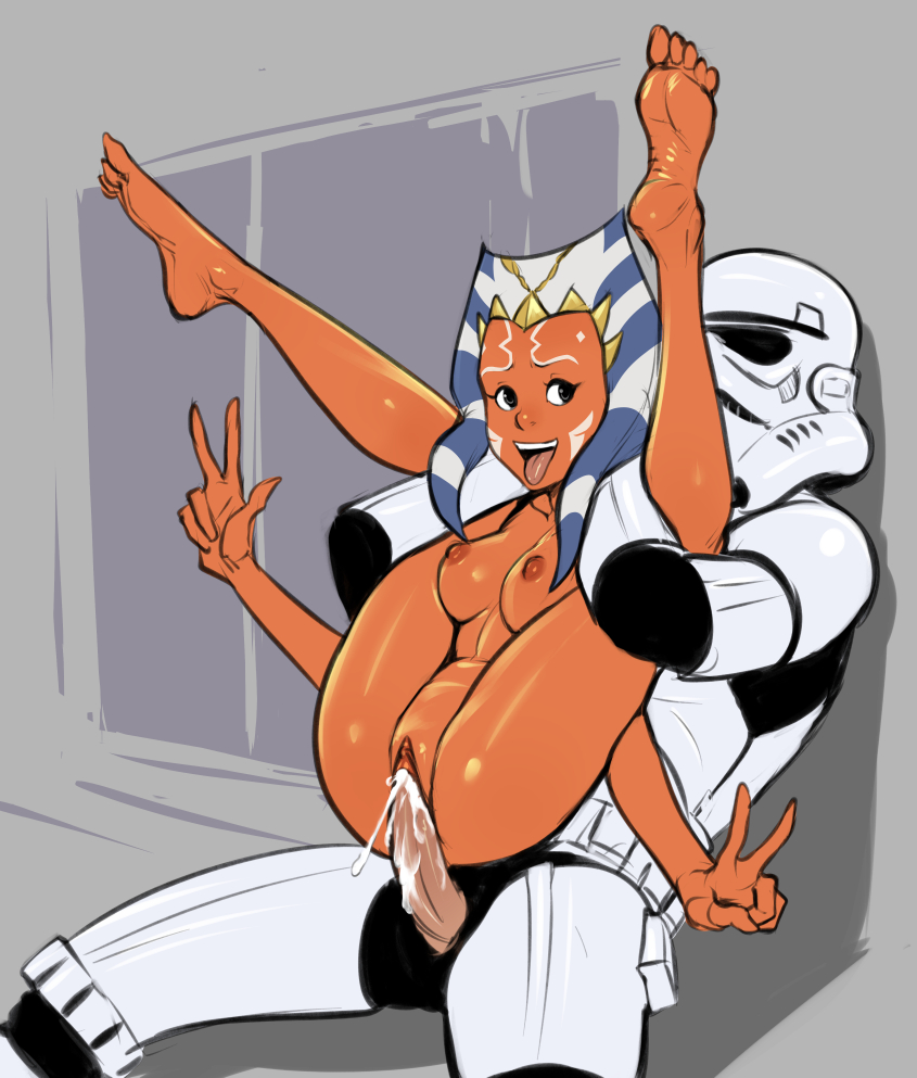 star wars ahsoka rule 34