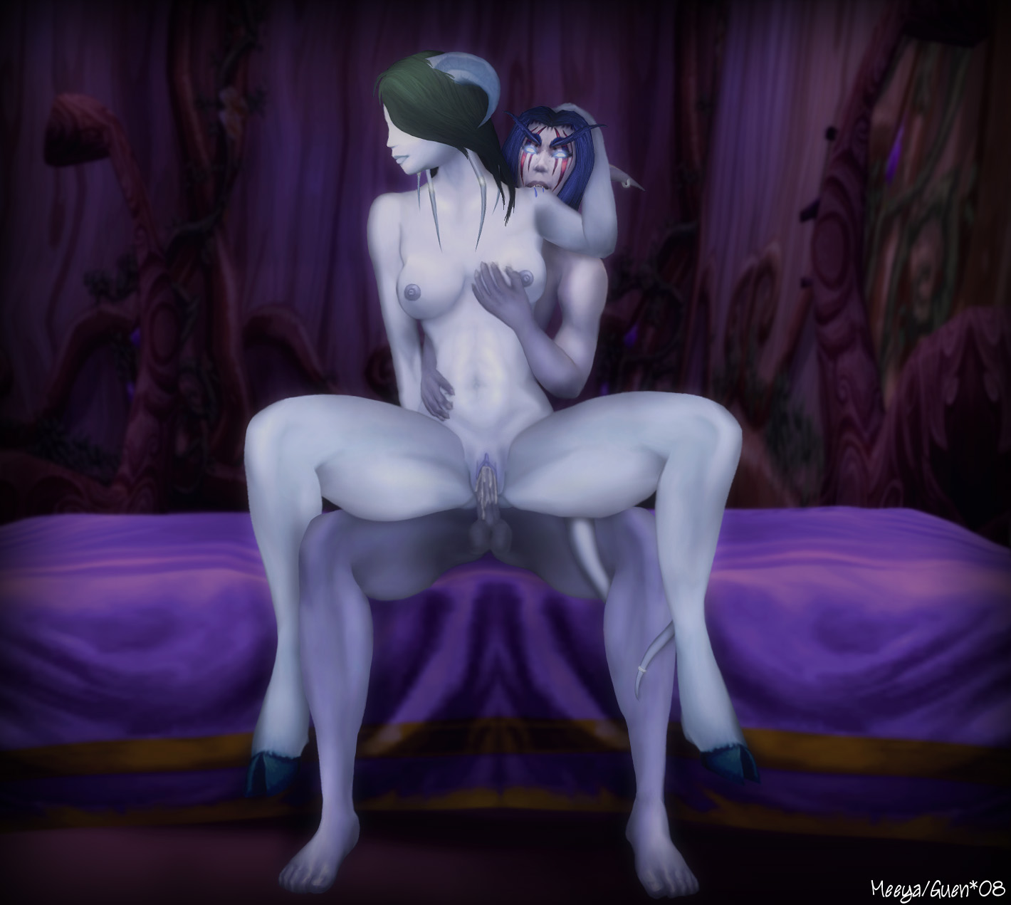 Night elf hentia erotic clips