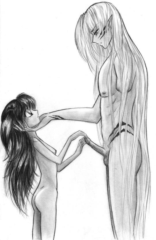 Rin and sesshoumaru hentai