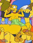 josemalvado marge_simpson tagme the_simpsons yellow_skin  rating:explicit score:31 user:toonhunter